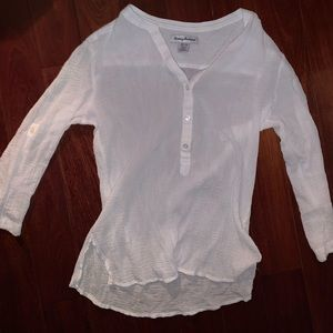 Tommy Bahama Women's White Blouse